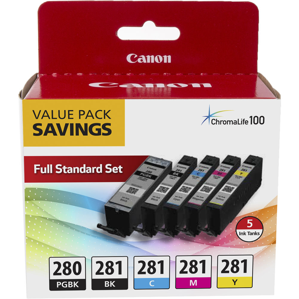 Canon PGI-280/CLI-281 5 Color Value Pack