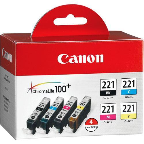 Canon CLI-251 4-Cartridge Ink Set