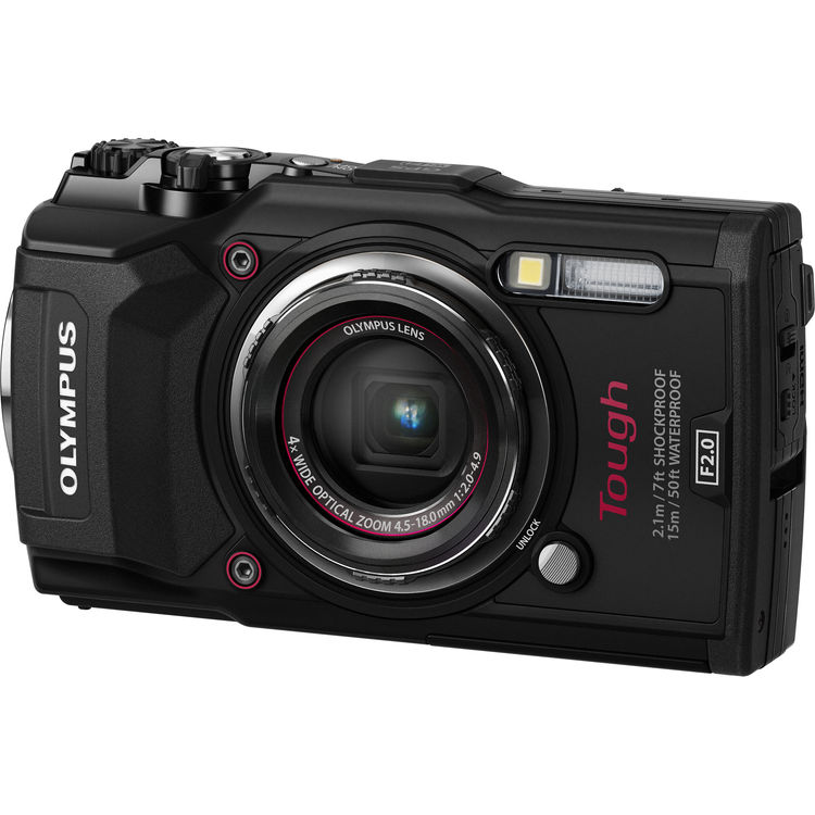 Olympus Tough TG-5 Waterproof Digital Camera (Black)