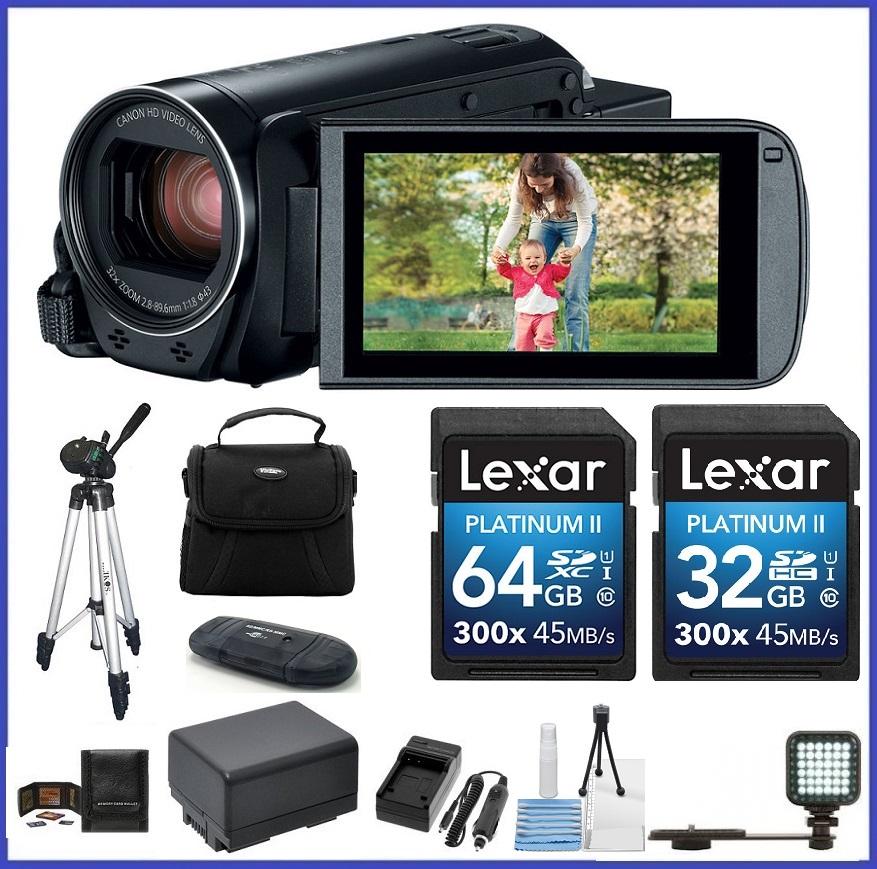 Canon VIXIA HF R82 HD Camcorder 96GB PRO Bundle