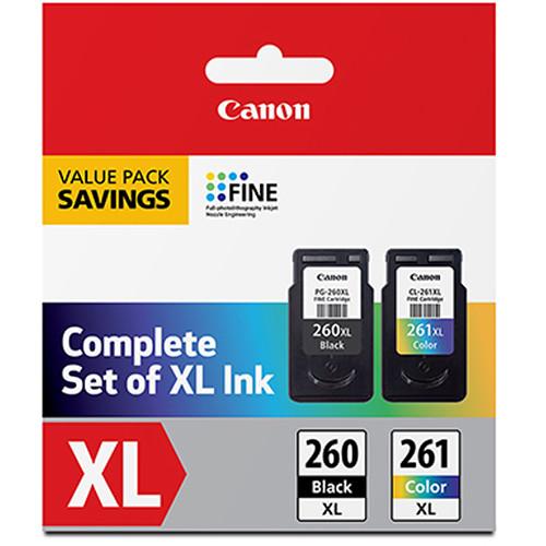 Canon PG-260 XL Black /CL-261 XL Color Value Pack