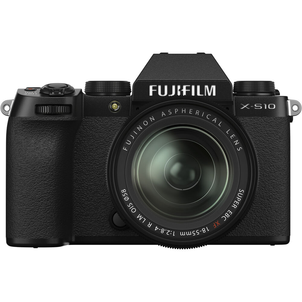 FUJIFILM X-S10 Mirrorless Digital Camera with XF 18-55mm f/2.8-4 R LM OIS Lens