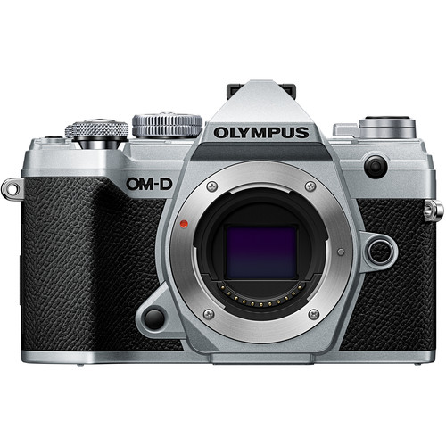 Olympus OM-D E-M5 Mark III Mirrorless Digital Camera Body- Free Olympus ECG-5 External Grip