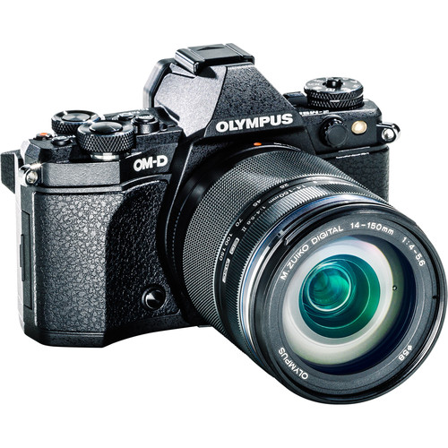 Olympus OM-D E-M5 Mark II Mirrorless Micro Four Thirds Digital Camera with 14-150mm f/4-5.6 Lens Kit