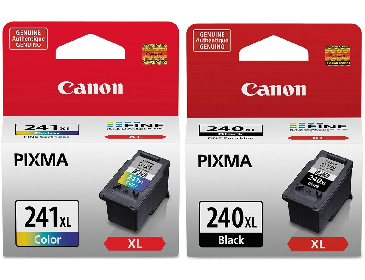 Canon PG-240XL and CL-241XL Ink Cartridge Set