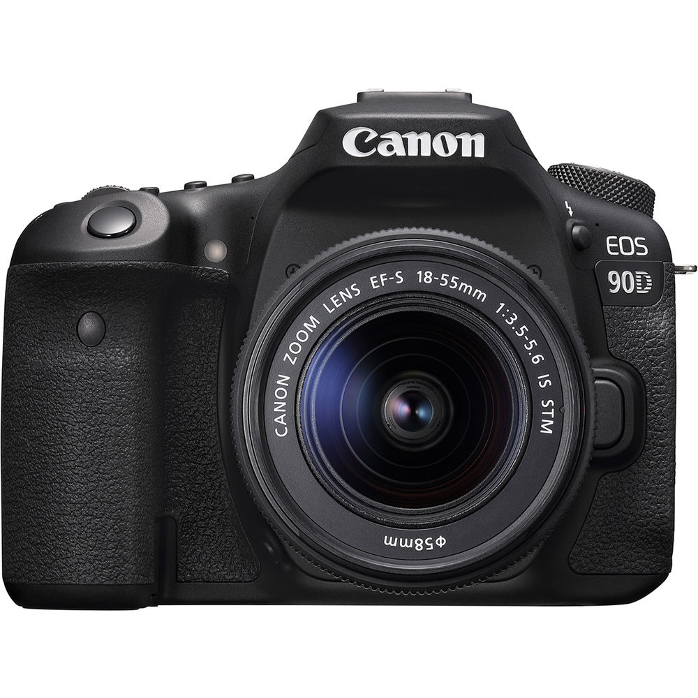 Canon EOS 90D DSLR Camera with EF-S 18-55mm f/3.5-5.6 IS STM Lens