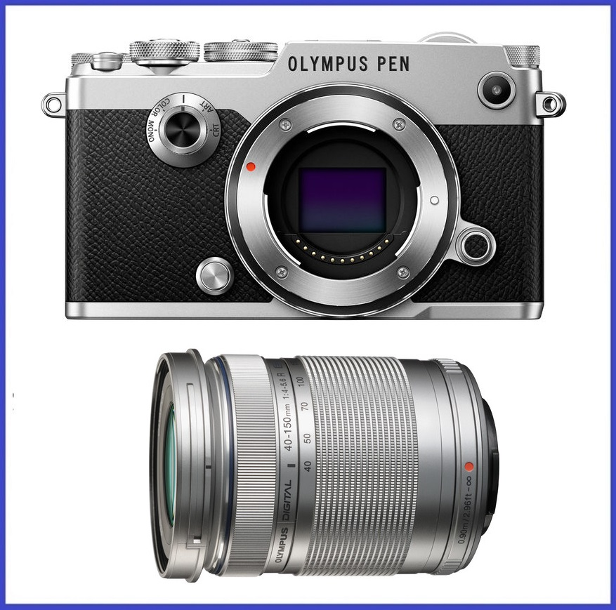 Olympus PEN-F Mirrorless Micro Four Thirds Digital Camera with M.Zuiko Digital ED 40-150mm f/4.0-5.6 R Lens