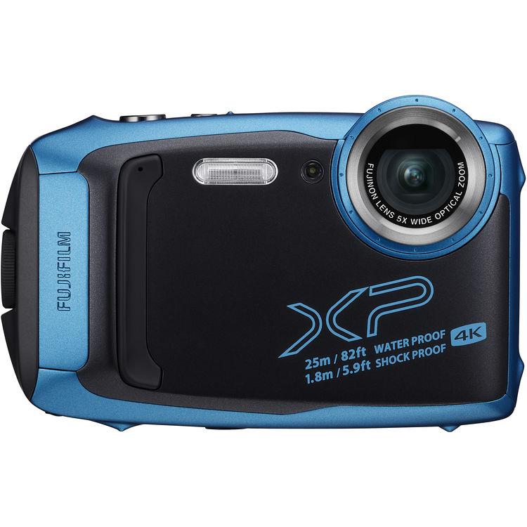 FUJIFILM FinePix XP140 Waterproof Digital Camera (Sky Blue)