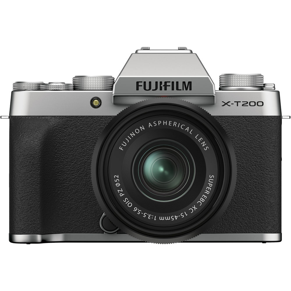 FUJIFILM X-T200 Mirrorless Digital Camera with 15-45mm Lens
