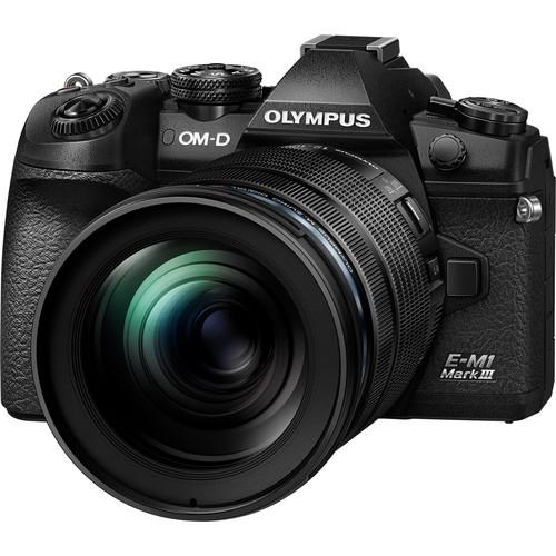 Olympus OM-D E-M1 Mark III Mirrorless Digital Camera with Olympus M.Zuiko Digital ED 12-100mm f/4 IS PRO Lens