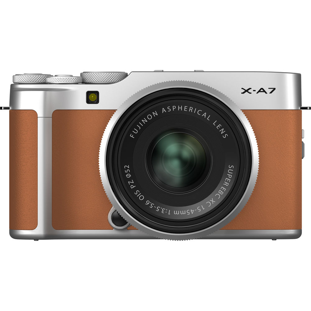 Fujifilm X-A7 Mirrorless Digital Camera with XC 15-45mm f/3.5-5.6 OIS PZ Lens