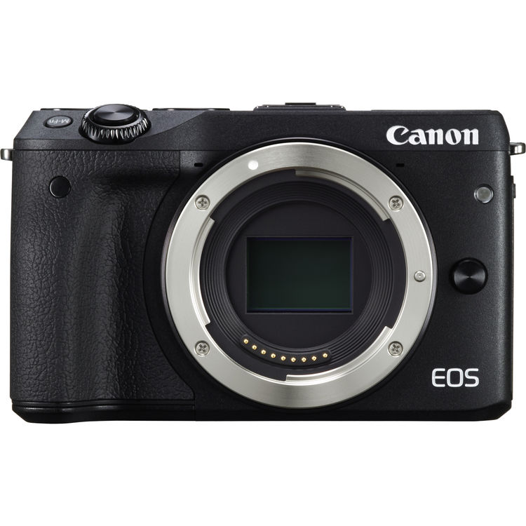 Canon EOS M3 Mirrorless Digital Camera Body Only (Black)