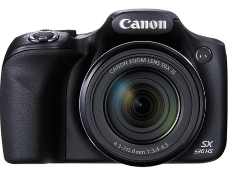 Canon Powershot SX530 HS 16.0 MP Digital Camera with 50x Optical Zoom and 1080p Full HD Video