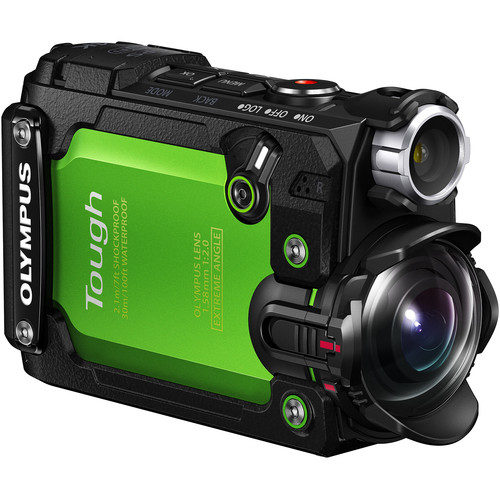 Olympus Stylus Tough TG-Tracker Action Camera [Green]