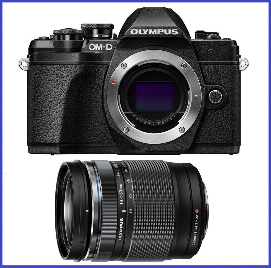 Olympus OM-D E-M10 Mark III Mirrorless Micro Four Thirds Digital Camera (Body) + Olympus M.Zuiko ED 14-150mm f/4-5.6 II Lens