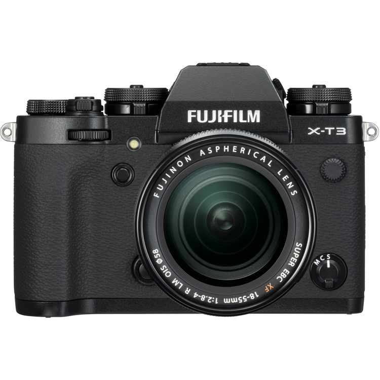 Fujifilm X-T3 Mirrorless Digital Camera with XF 18-55mm f/2.8-4 R LM OIS Zoom Lens