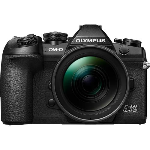 Olympus OM-D E-M1 Mark III Mirrorless Digital Camera with M.Zuiko Digital ED 12-40mm f/2.8 PRO Lens