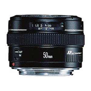 Canon EF 50mm f/1.4 USM AF Lens