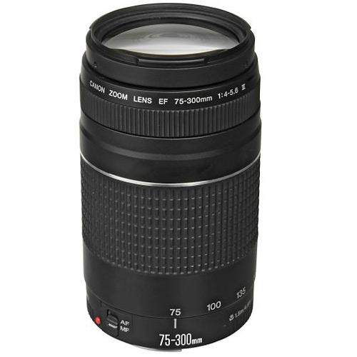 Canon 75-300mm f/ 4-5.6 III EF Zoom Lens