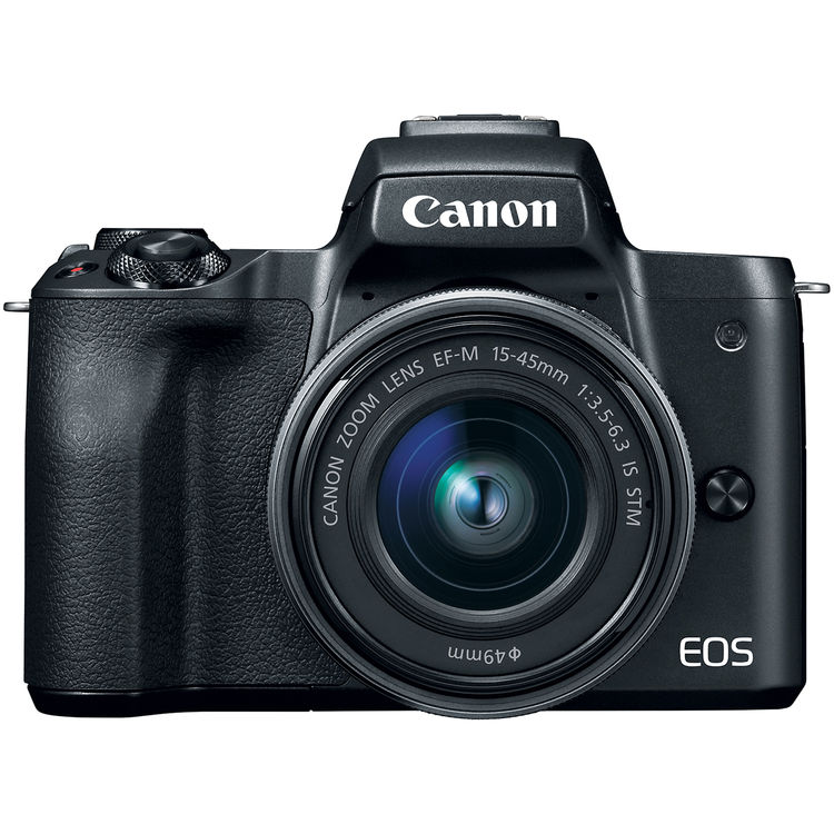 Canon  EOS M50 Mirrorless Digital Camera with 15-45mm Lens (Black)