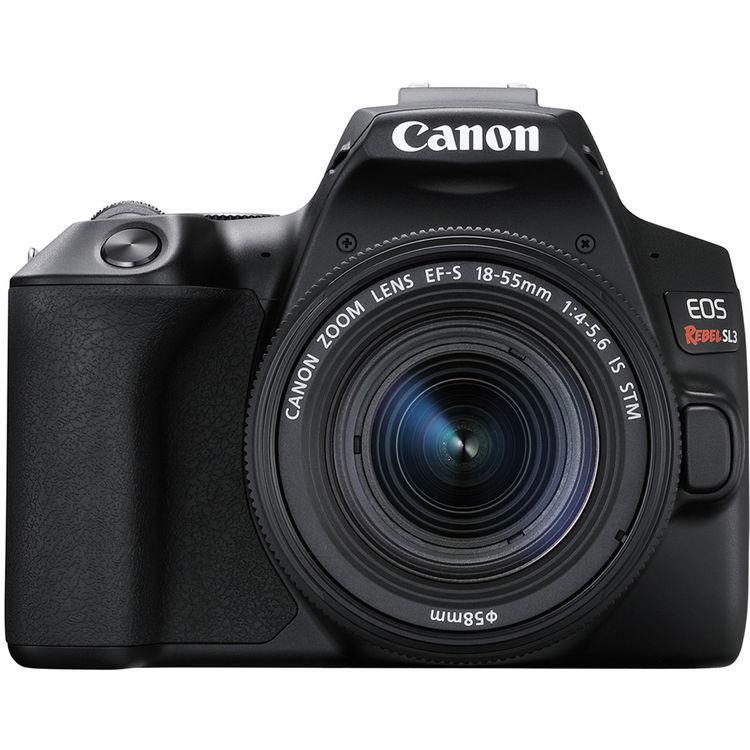 Canon EOS Rebel SL3 DSLR Camera with EF-S 18-55mm f/4-5.6 IS STM Lens