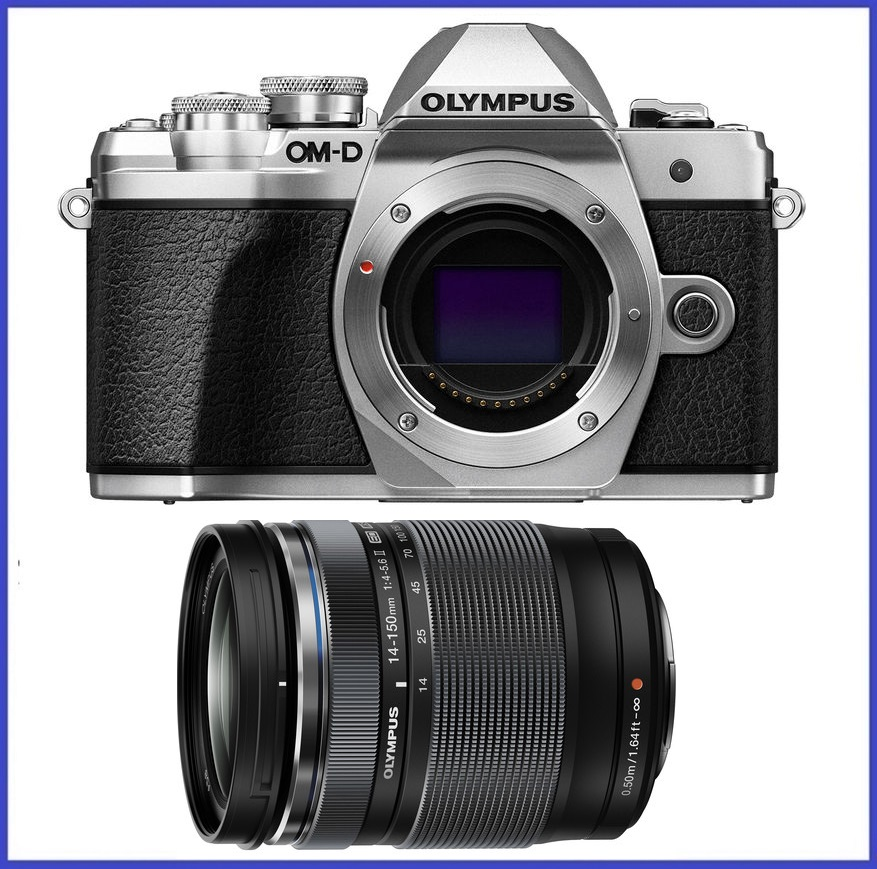 Olympus OM-D E-M10 Mark III Mirrorless Micro Four Thirds Digital Camera (Body) + Olympus M.Zuiko ED 14-150mm f/4-5.6 II Lens