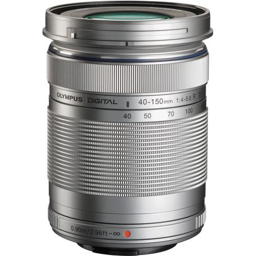Olympus M.Zuiko Digital ED 40-150mm f/4.0-5.6 R Lens (Silver)
