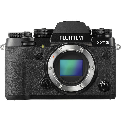 Fujifilm X-T2 Mirrorless Digital Camera (Body Only)