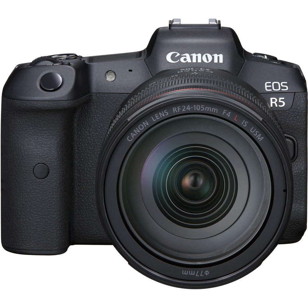 Canon EOS R5 Mirrorless Digital Camera with RF 24-105mm f/4L IS USM Lens