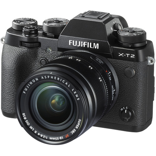 Fujifilm X-T2 Mirrorless Digital Camera with XF 18-55mm Lens